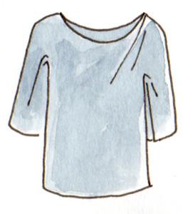 tee shirt 2 pièces