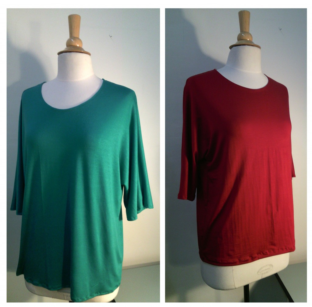 2 tee-shirts