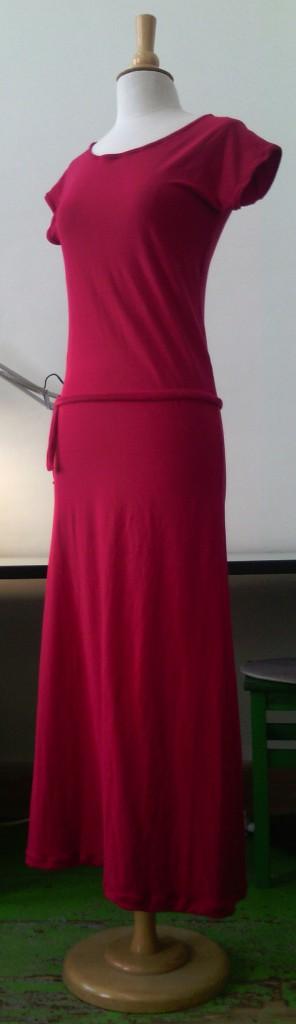 robe longue Anda
